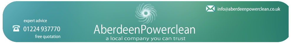 Aberdeen PowerClean: specialists in drive, patio & building cleaning